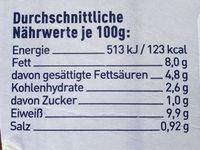 Schlemmerfilet Brokkoli Mandel - Nutrition facts - de