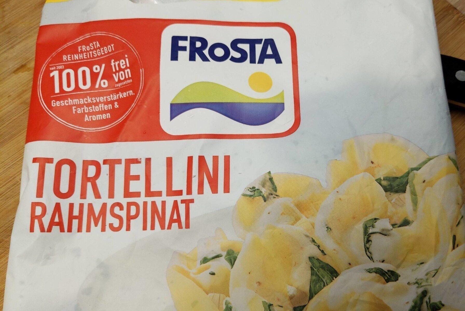Frosta Tortellini rahmspinat - Produkt - en
