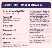15 Fischstäbchen - Ingrédients - de