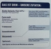 15 Fischstäbchen - Ingredients - de