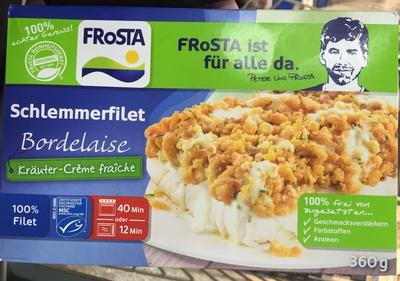 Schlemmerfilet Bordelaise Kräuter-Crème fraîche - Product