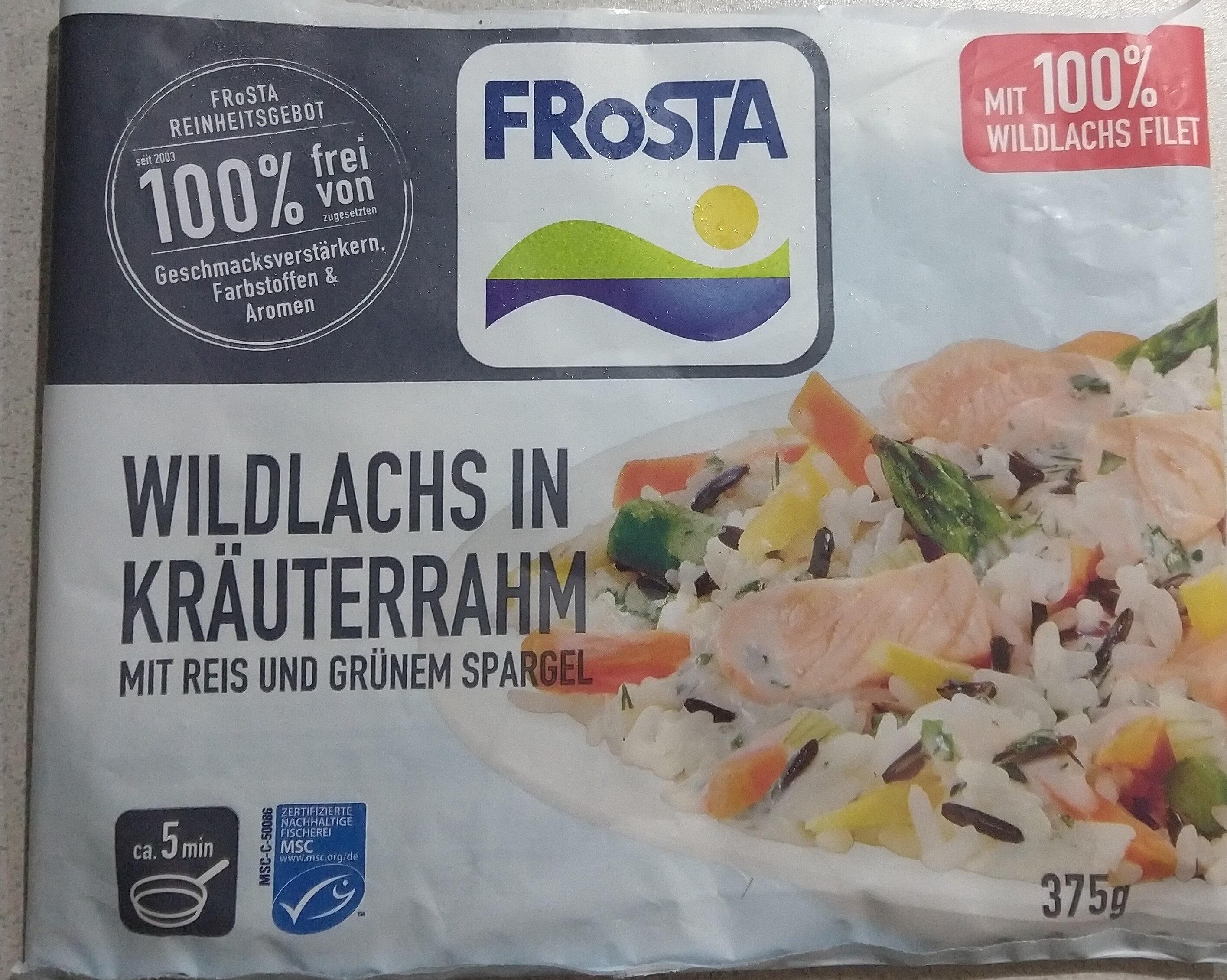 Frosta wildlachs in kräuterrahm - Product - de