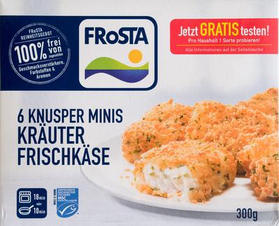 6 knupser Minis Kräuter Frischkäse - Product - de