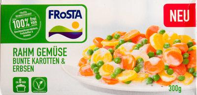 Rahm Gemüse bunte Karotten & Erbsen - Produit - de