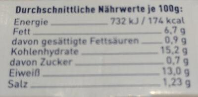 Backofenfisch Knusprig Kross - Informations nutritionnelles - de