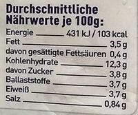 Chili Con Quinoa - Informations nutritionnelles