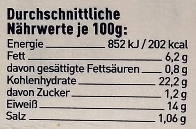Knusper Happen Seelachs aus der Nordsee - Nutrition facts - de
