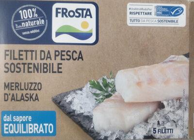 merluzzo d'Alaska - filetti da pesca sostenibile - Product - it