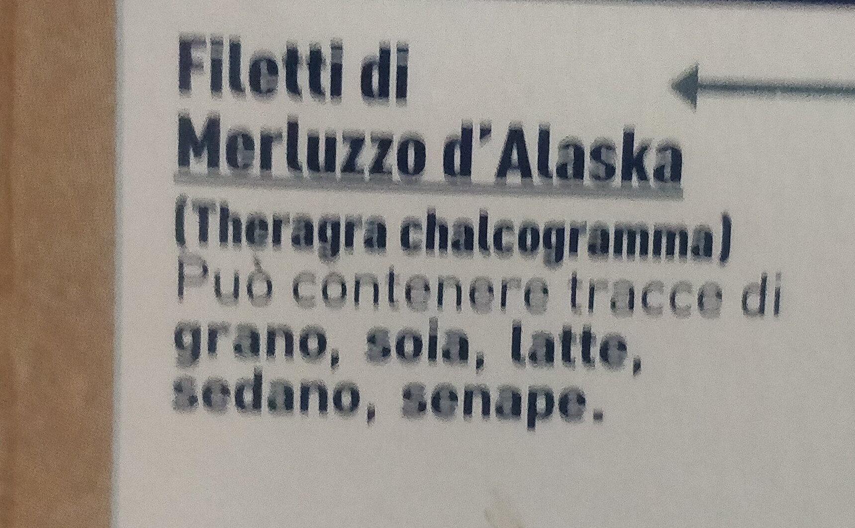 merluzzo d'Alaska - filetti da pesca sostenibile - Ingrediënten - it