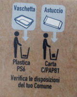 merluzzo d'Alaska - filetti da pesca sostenibile - Recyclinginstructies en / of verpakkingsinformatie - it