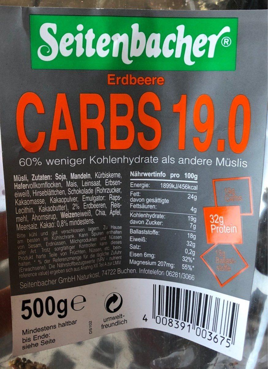 Carbs 19.0 - Prodotto - fr