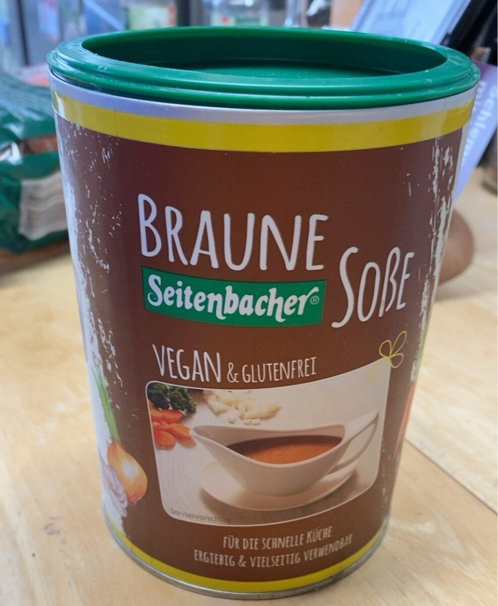 Braune Seitenbacher Soße - Prodotto - en