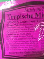 Tropische Mischung - Ingredienti - de