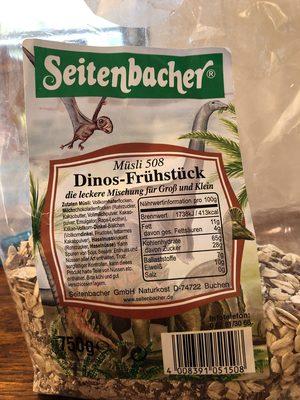 Dinos Frühstück, Haferflocken Und Schoko - Prodotto - fr