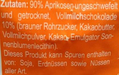 Seitenbacher Stocko Aprikose - Ingredienti - de