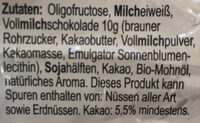 Protein-Riegel - Ingredienti - en