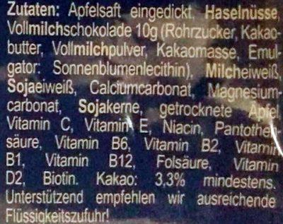 Seitenbacher Fitness Riegel - Ingredienti - de