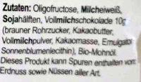 Seitenbacher - 60G - Ingredienti - en