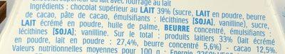 Mini Kinder Chocolat - Ingredienti - fr