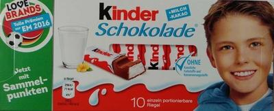 Kinder Schokolade - Produkt