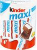 Kinder maxi t10 pack de 10 barres - Produkt