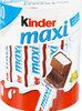 Kinder maxi barre chocolat au lait avec fourrage au lait 10 barres - Product