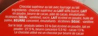 Kinder maxi t10 pack de 10 barres - Ingredients - fr