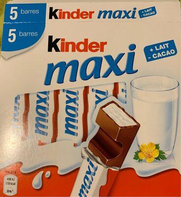 Kinder Maxi 5 barres - Product - fr