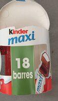 Kinder Maxi - Ingrédients