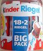 Kinder Riegel Big Pack - Produkt