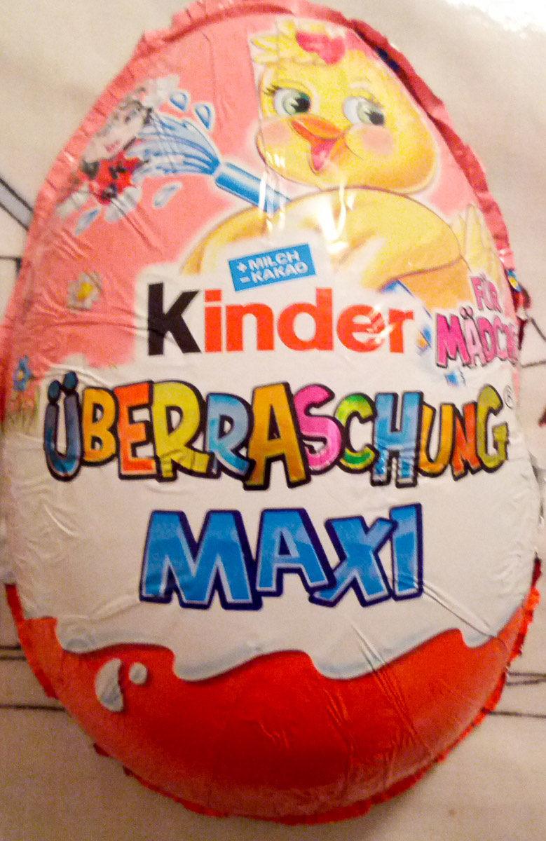 Kinder überraschung Maxi FüR Mädchen 100G - Prodotto - de