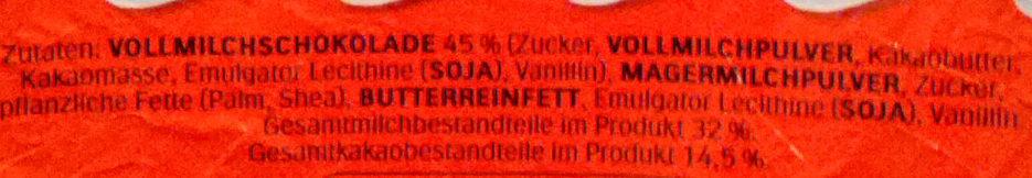 Kinder überraschung Maxi FüR Mädchen 100G - Ingredienti - de
