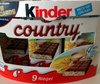 Kinder Country - Produkt