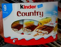 Kinder Country (9 barres) - Product