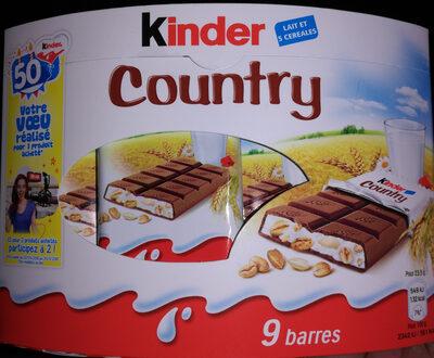Kinder Country - Produit - fr