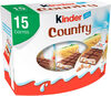 Kinder country t15 pack de 15 pieces - Produit
