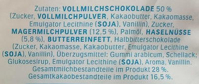 Schoko-Bons - Ingredients