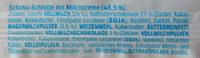 Kinder Pingui Schoko - Ingredients