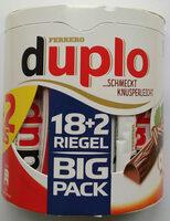 Duplo Big Pack 18+2 - Produkt
