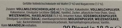 Duplo Big Pack 18+2 - Ingredients