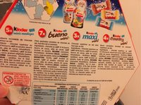 Kinder mix manege de - Ingredients - fr
