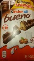 Kinder Bueno Sparpack - Prodotto - de