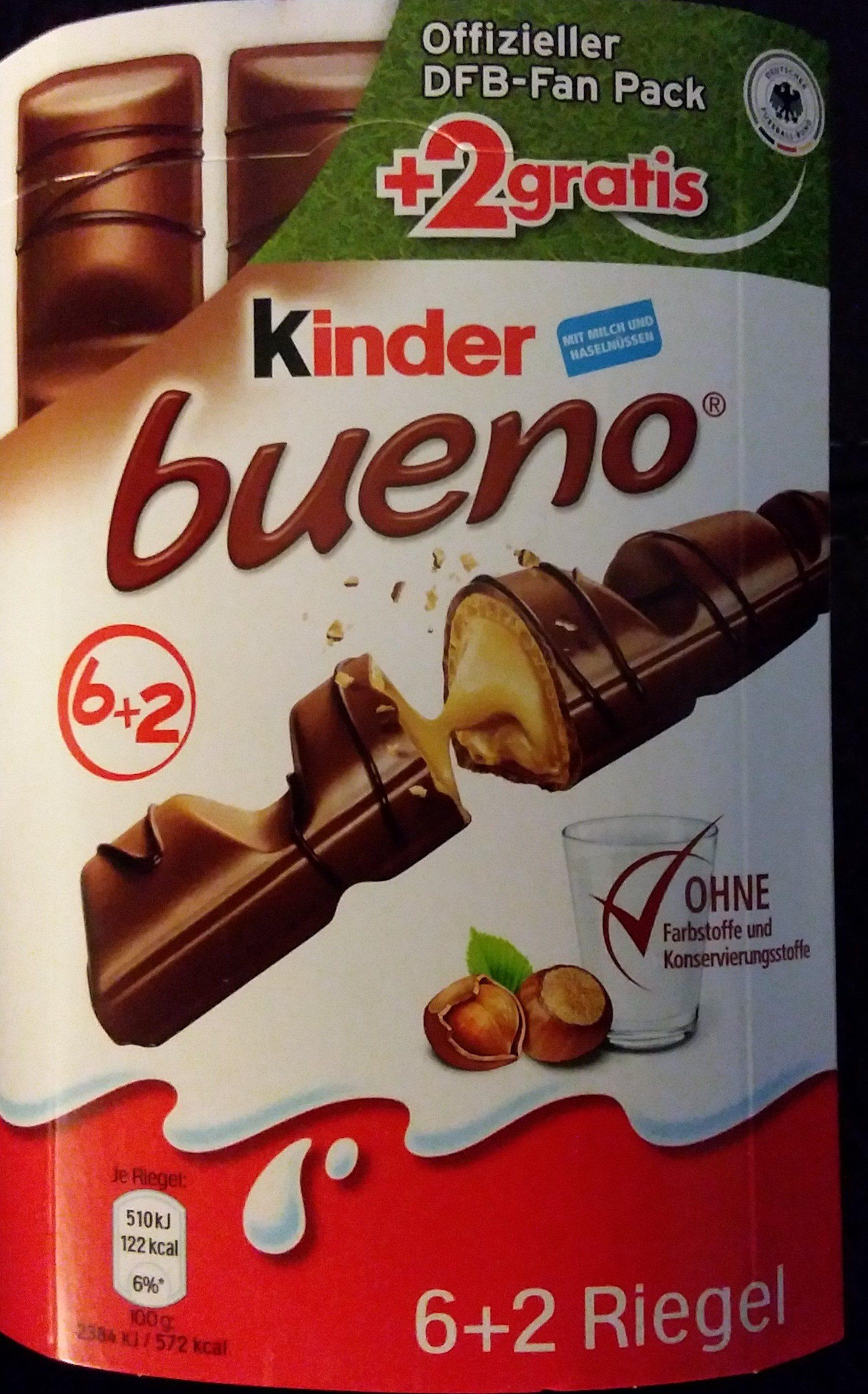 Kinder Bueno +2 Gratis - Prodotto - de