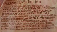 Hanuta Minis - Ingredienti - de