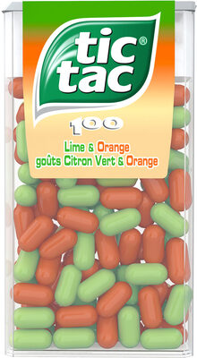 Tic Tac goûts Citron Vert & Orange - Product