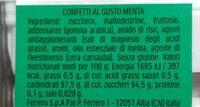 Mint - Voedingswaarden - en