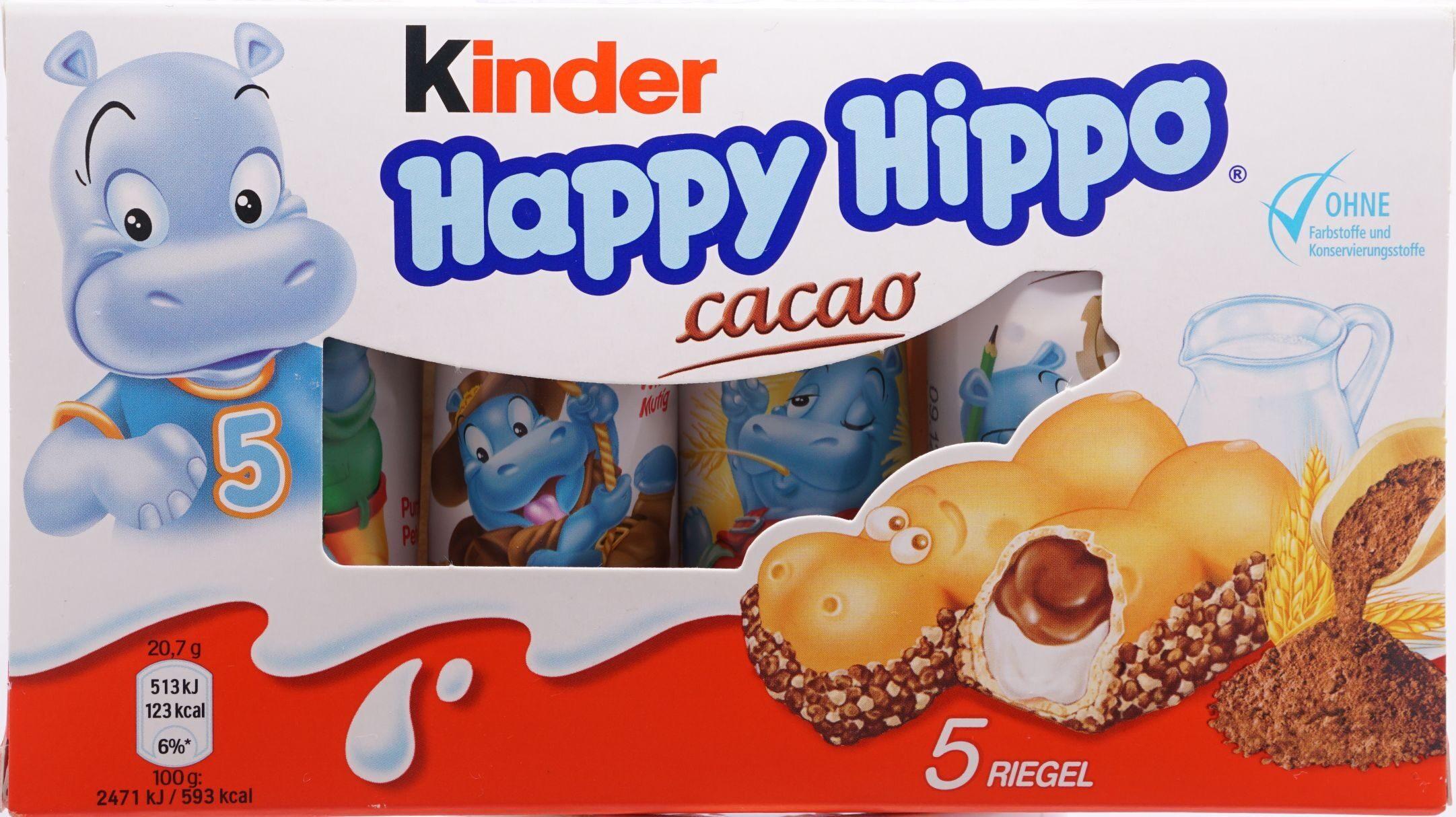 Kinder Happy Hippo Cacao - Produkt - de