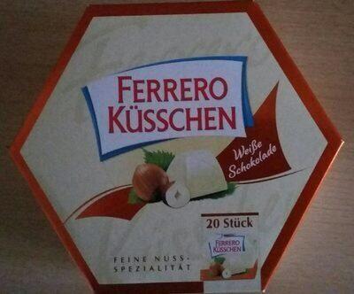 Ferrero Küsschen White 20er Geschenkverpackung - Produit