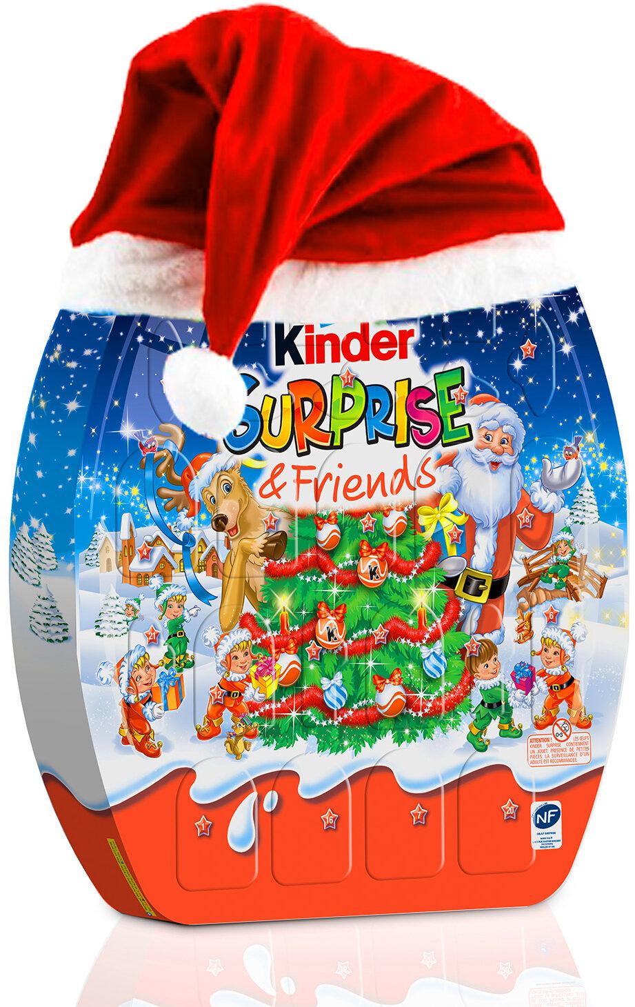 Kinder Weihnachtskalender.Kinder überraschung Friends Adventskalender 431 G