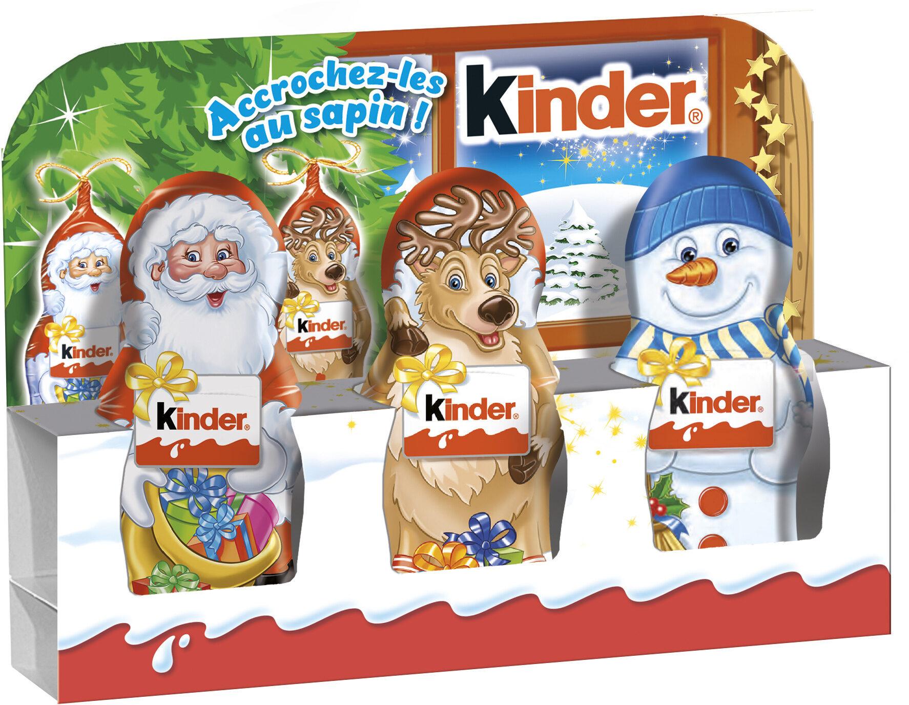 Kinder mini moulage confiserie en forme de personnage recouverte de chocolat superieur au lait - Prodotto - fr